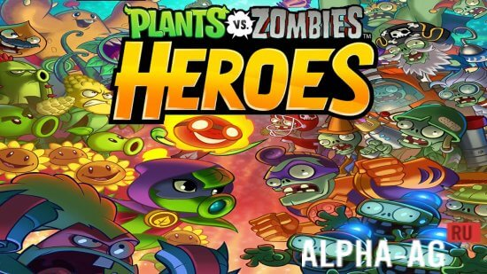 Скриншот Plants vs. Zombies Heroes №1
